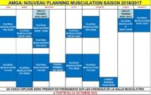 AMGA: Planning des activités de loisirs 2016/2017