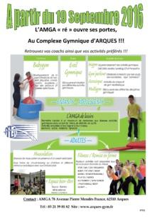 Réouverture de l'AMGA au Complexe Gymnique d'Arques