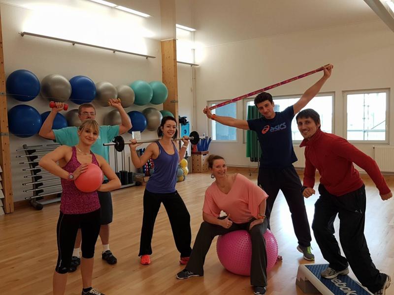 L'Equipe de coachs de notre espace Fitness