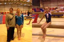 2 gymnastes en compétition pour se qualifier pour la finale ½ finale des championnats de France.