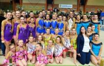 Première compétition pour les Ensembles de Gymnastique Rythmique de l'AMGA