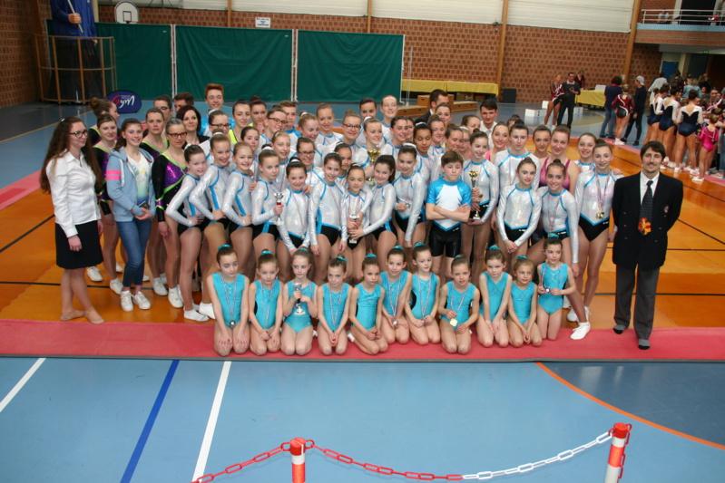 Gymnastique Aérobic : Très bons résultats aux championnats régionaux.