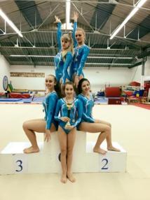 Première compétition pour les GAF en trophée régional: 2 podiums pour l'AMGA