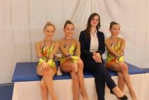 5 Médailles pour la gymnastique rythmique d'Arques!