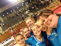 Les arquoises en ½ finale des championnats de France par équipe