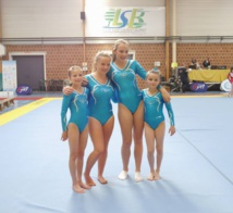 Finale Régionale Gymnastique Artistique Féminine par équipe à Saint-Laurent-Blangy