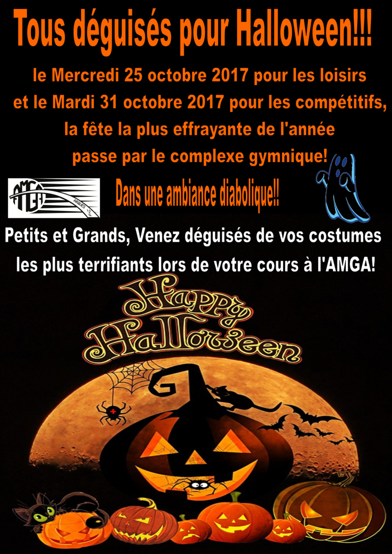 AMGA: Tous déguisés pour Halloween!!!!