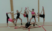 Direction les championnats de France pour la Gymnastique Rythmique Arquoise !