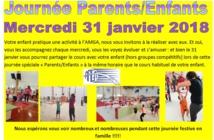 Journée Parents/Enfants Mercredi 31 Janvier 2018