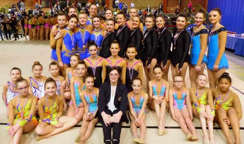 Gymnastique Rythmique: Le plein de médailles pour l'AMGA!!!!