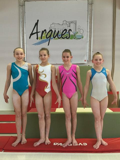 AMGA GYMNASTIQUE ARTISTIQUE FEMININE : 4 gymnastes Arquoises qualifiées pour les Championnats de France