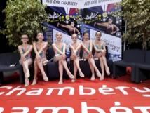 Gymnastique Rythmique: Une équipe au championnat de France à Chambéry