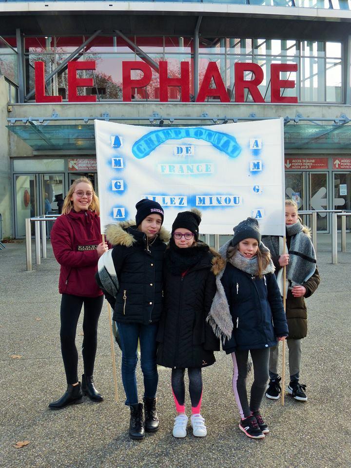 Championnat de France Individuel GR à Chambéry