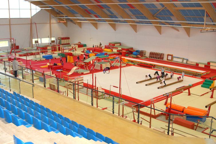 salle de gymnastique artistique