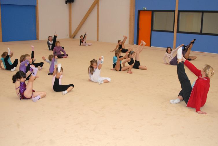 salle de Gymnastique Rythmique
