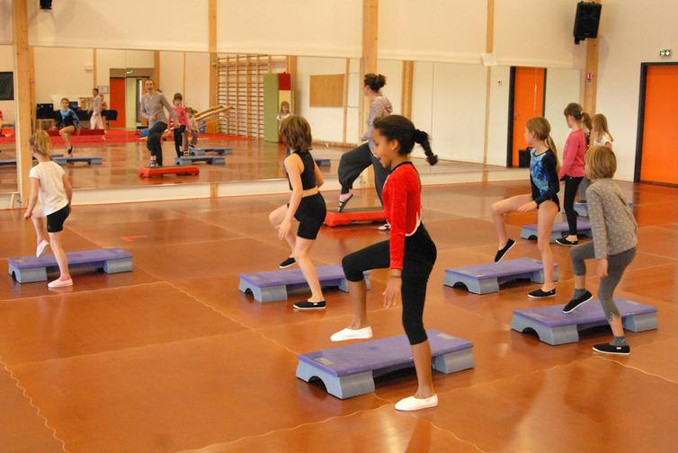 salle de Gymnastique Aérobic