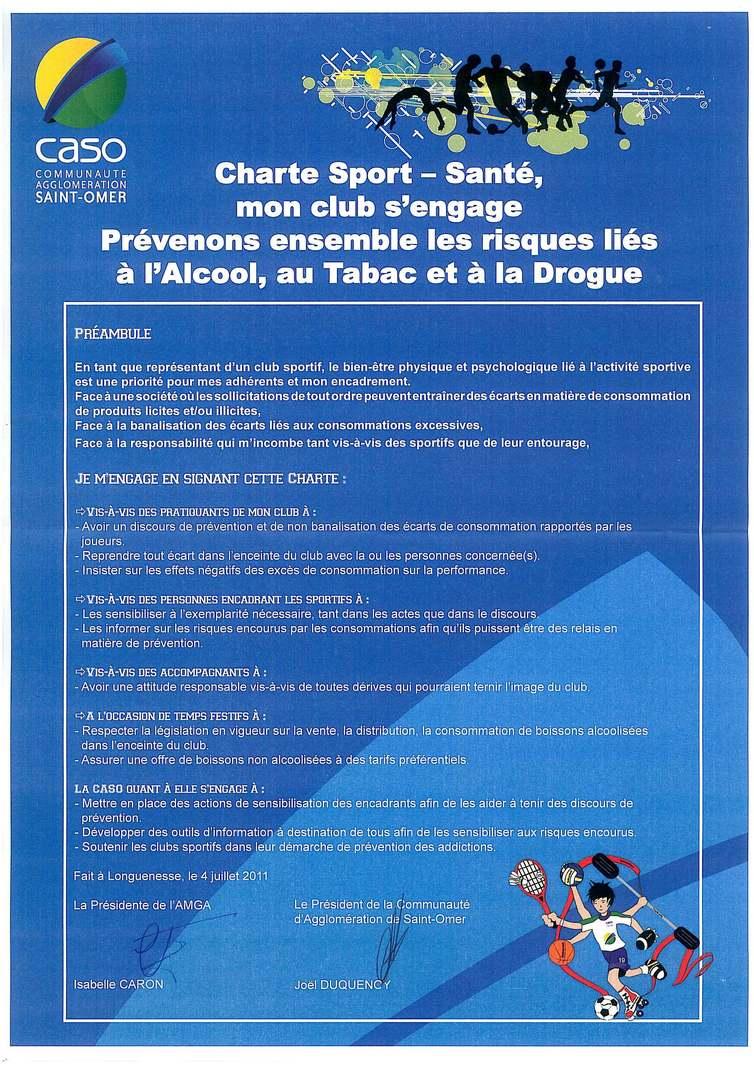 Charte Sport Santé