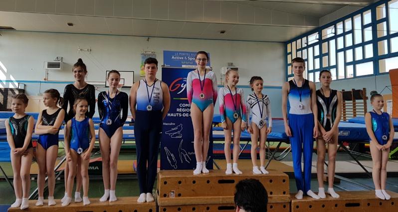 8 podiums pour les trampolinistes de l'AMGA