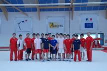 Equipes GAM olympiques accueillies au complexe gymnique d'Arques en juillet 2012