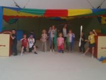 Un cours de cirque à l'AMGA