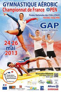 Des infos des Championnats de France Aérobic de GAP