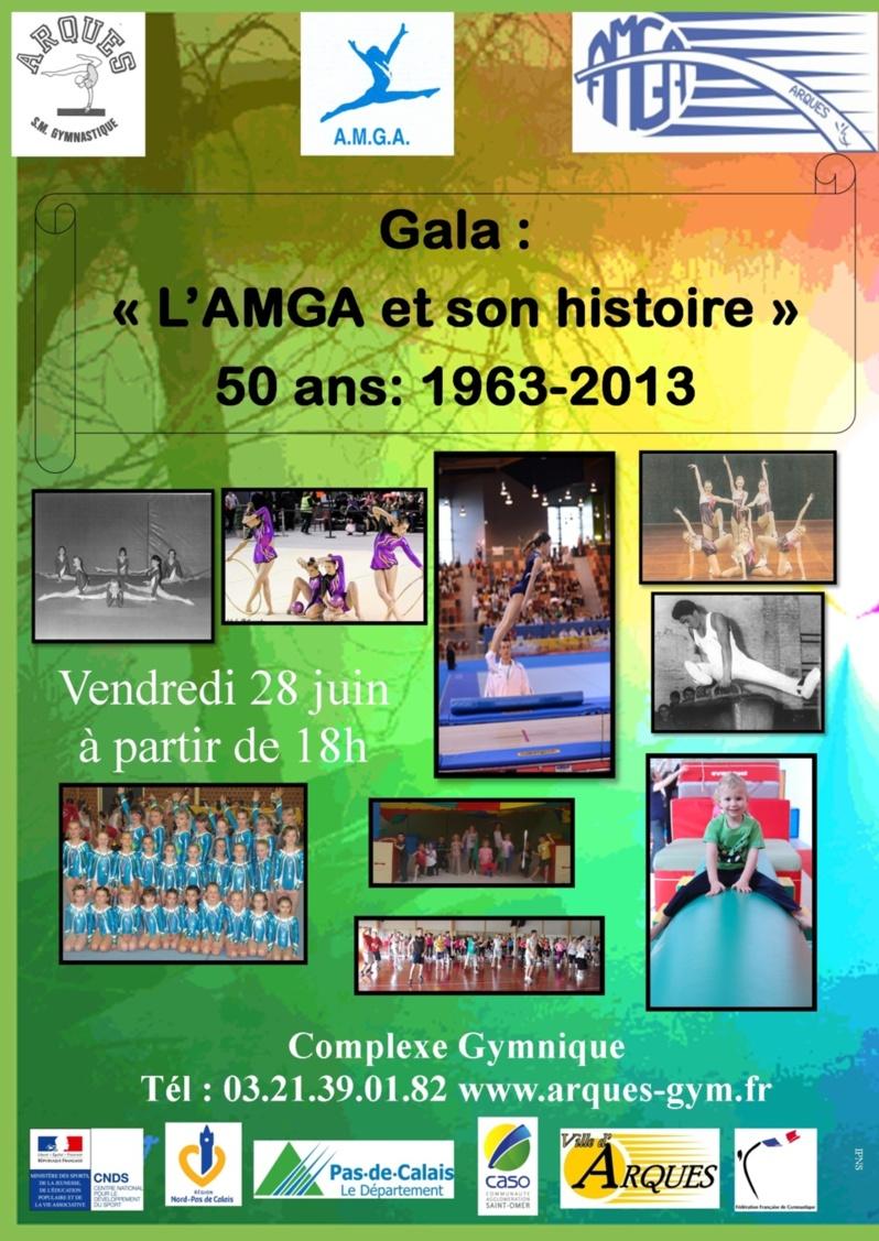 Gala de l'AMGA le vendredi 28 juin 2013 à partir de 18h suivi du barbecue