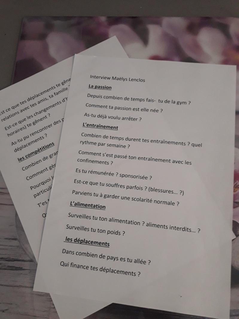 Lorsque l'Ecole Notre Dame de Saint-Omer interview Maëlys