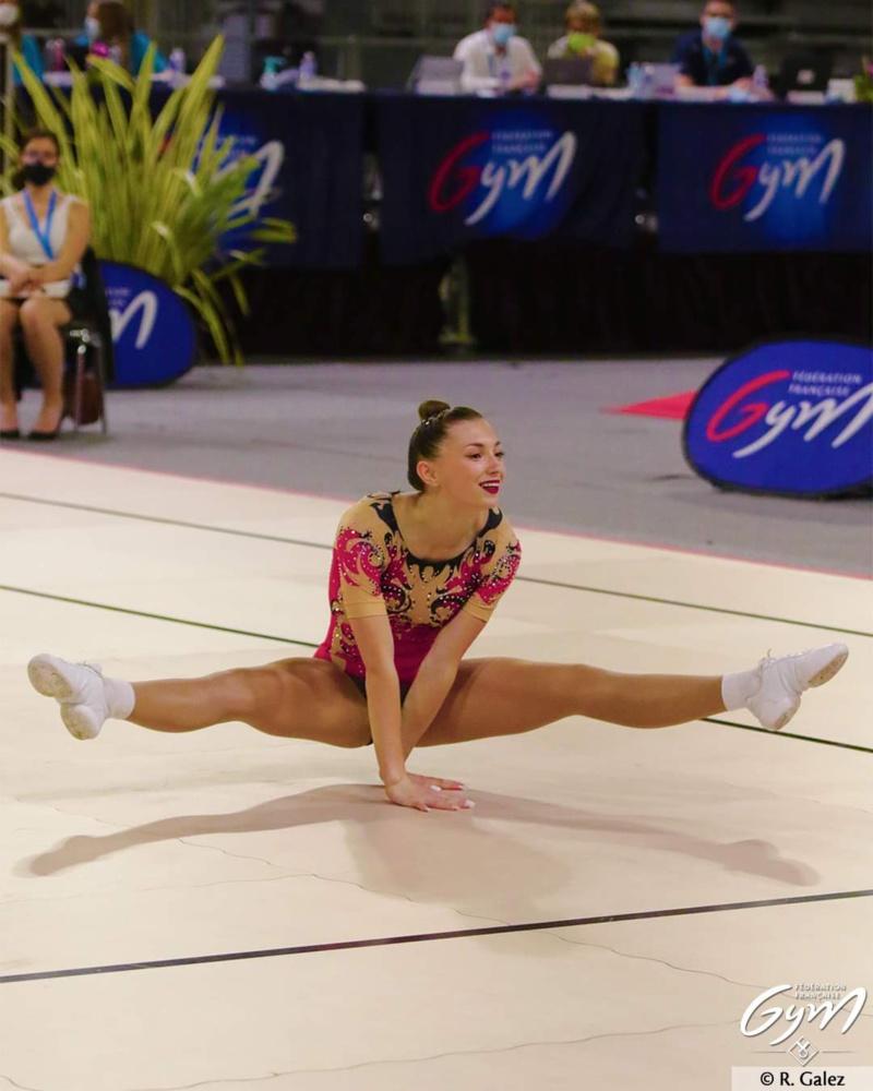 Championnat de France Elite Gymnastique Aérobic : les Gymnastes de l'AMGA ont brillé par leurs performances.