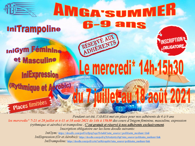 AMGA'Summer 6-9 ans