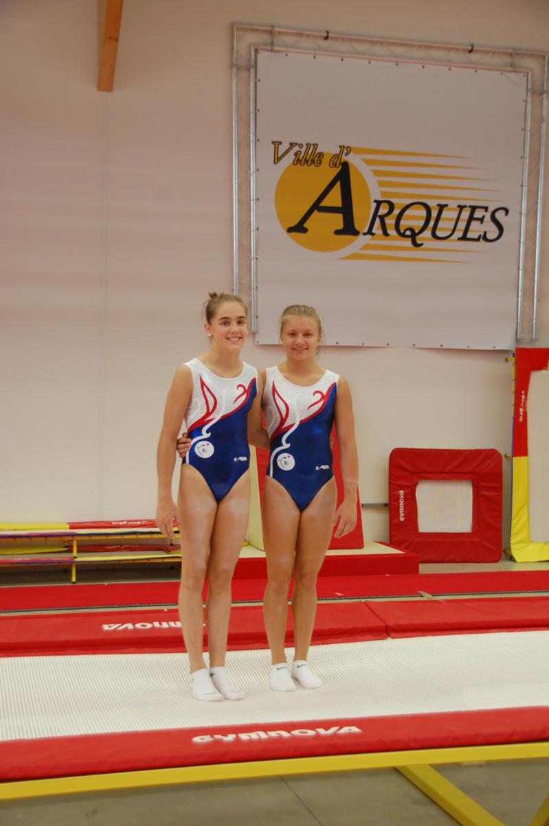 L'équipe de France GAF était en stage à Arques