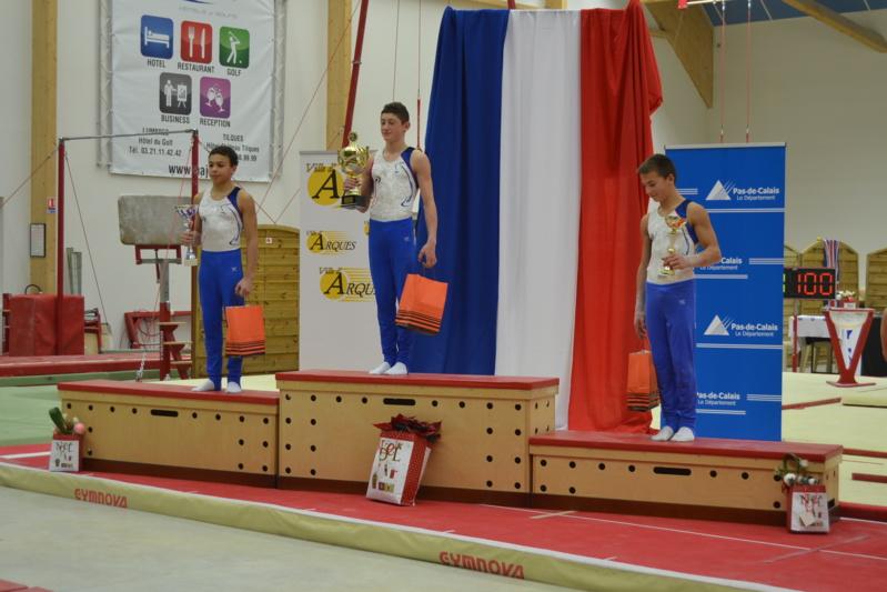 Résultats: 18ème Tournoi International de Gymnastique du Pas-de-Calais Coupes de la Ville d'Arques