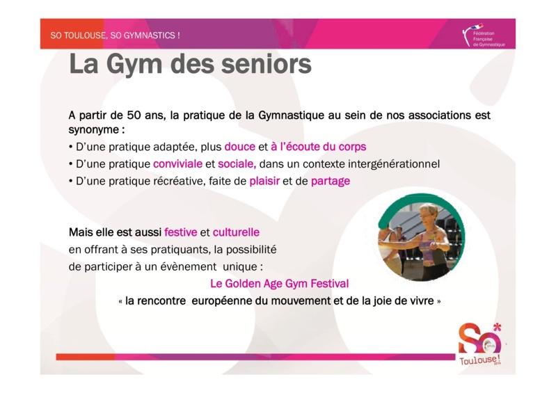 4ème Golde Age Gym Festival 2014