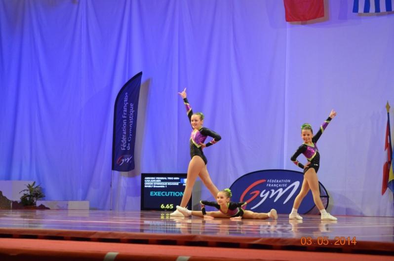 Gymnastique aerobic dates des competitions saison 2014 - Trampoline clermont ferrand ...