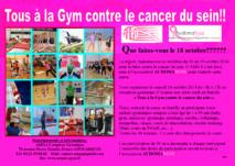 """Programme: """"Tous à la Gym contre le cancer du sein"""""""