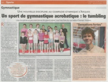 Article sur le Tumbling