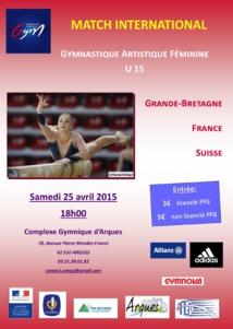 Match International GAF France Suisse Grande Bretagne