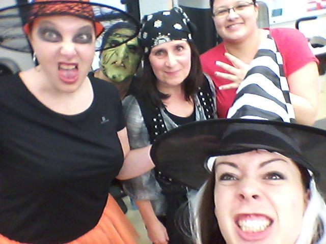 Halloween en salle  de musculation en ce samedi 31 octobre 2015!!!
