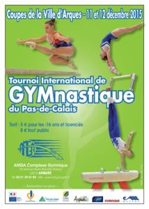 Résultats 12/12/15 Tournoi International de Gymnastique Arques 2015 Finale par agrès