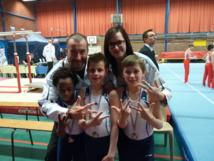 Une équipe de garçons de l'AMGA qualifiée pour les championnats de France