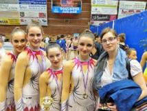 Une deuxième qualification pour les Championnats de France de Gymnastique Rythmique pour l'AMGA