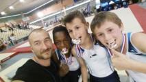 Un titre de Vice champion de France pour les masculins de l'AMGA