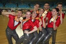 Gymnastique aérobic : un titre de championne du monde pour Marion BOGNITSCHEFF avec l'Equipe de France en Aérobic STEP