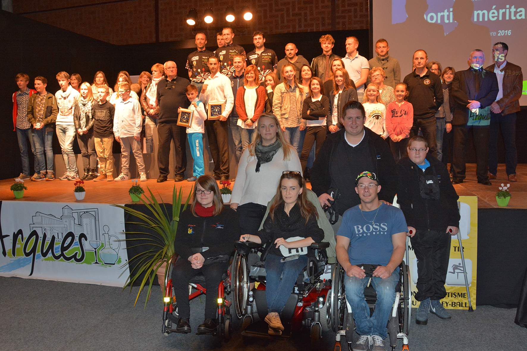Les sportifs méritants de l'AMGA récompensés par l'OMS d'Arques