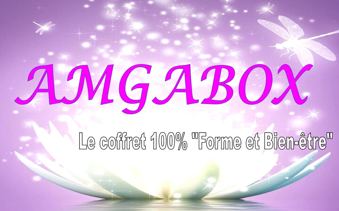 """AMGABOX: le coffret 100% """"Forme et Bien-être"""""""