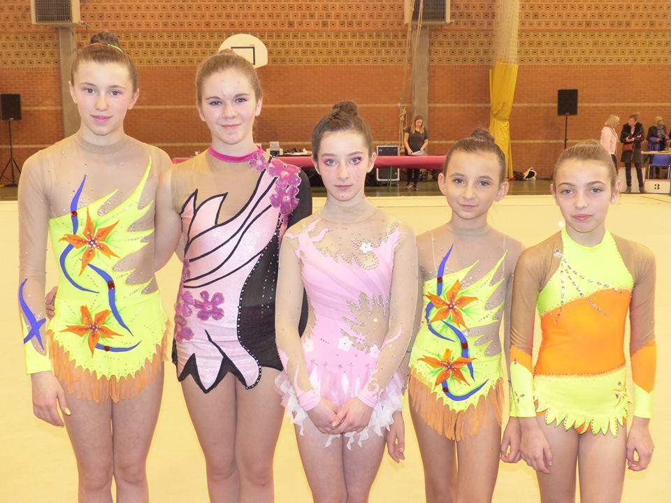 Amga Gymnastique Rythmique : Toutes les gymnastes qualifiées pour la 1/2 finale du championnat de France