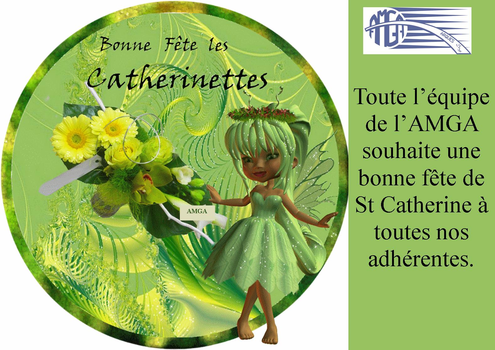 Bonne Fête de Ste Catherine