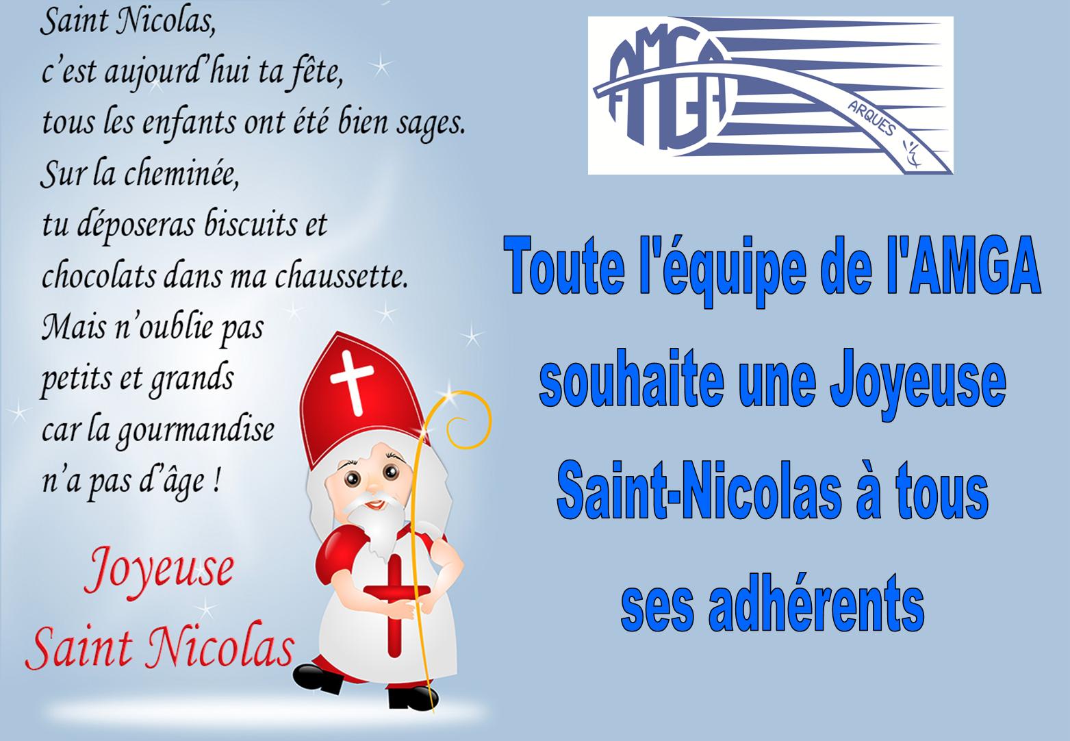 Joyeuse Fête de St Nicolas