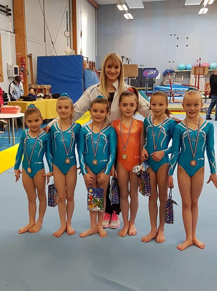 Les Jeunes Gymnastes Arquoises au TOP