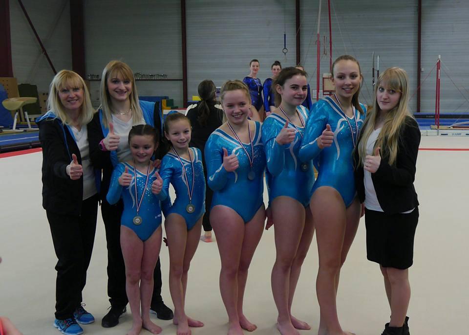 Gymnastique Artistique Féminine : Finales Départementales par Equipe Béthune le 26 Mars 2017