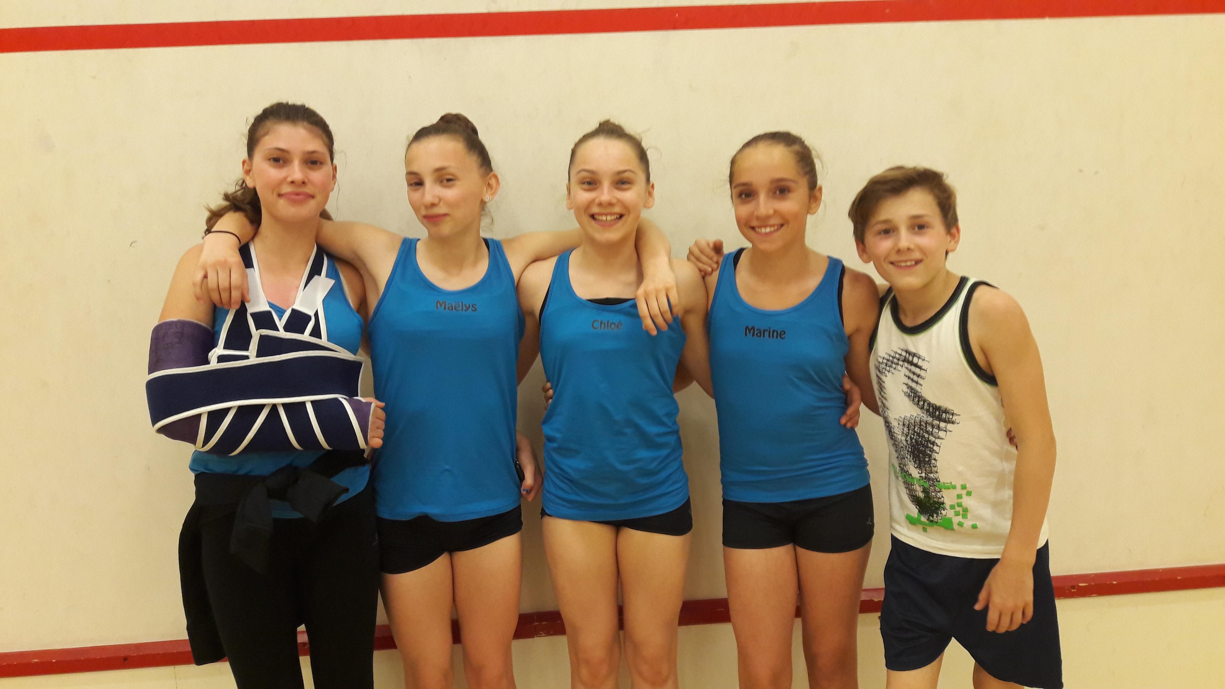 Gymnastique Aérobic : l'aventure internationale continue !!!!
